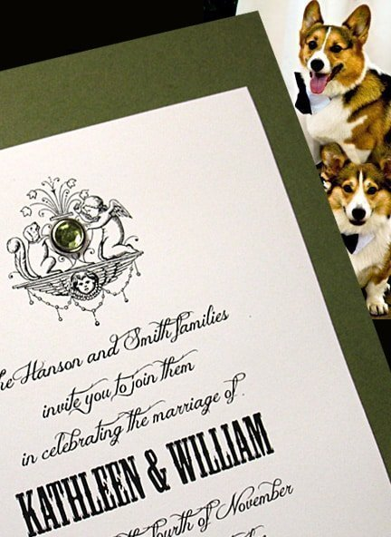 Wedding Invitations for Dog Lover Ideas