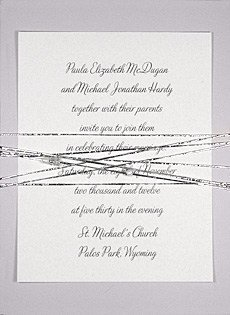 red lace invitations