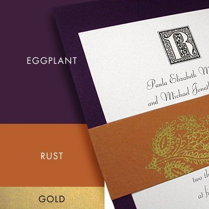 Purple Color Palette Ideas for Fall Weddings and Events
