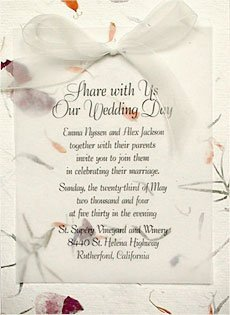 Summer Wedding Invitation Ideas