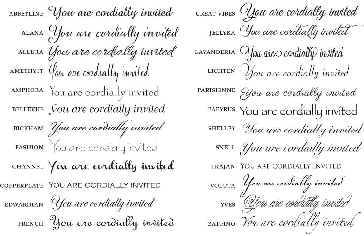 You Are Cordially Invited To The Wedding: Formal-Invitations.com