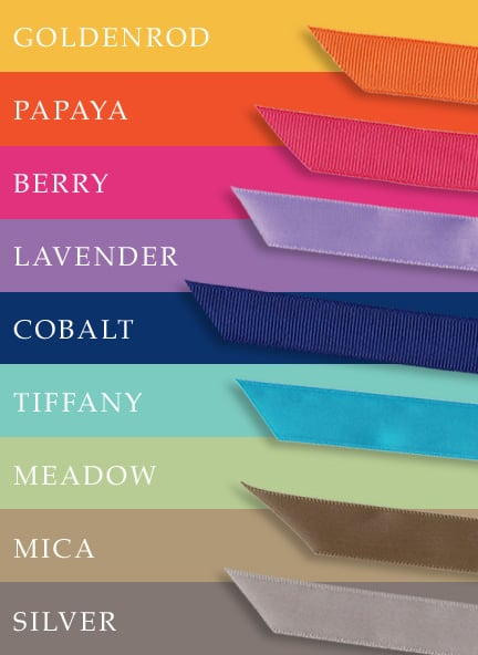 Colors for Spring and Summer Weddings