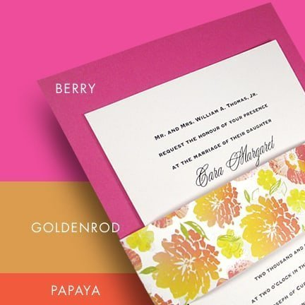 Spring Wedding and Event Color Palette for 2011